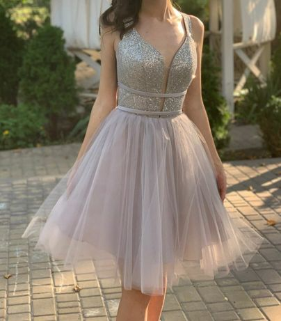 Выпускное платье + босоножки к нему