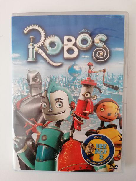 DVD Robôs - como novo
