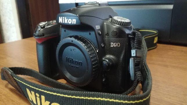 Nikon D90 body (пробег 24к)