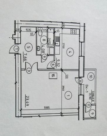 Квартира в ЖК Эспланада с автономным отоплением