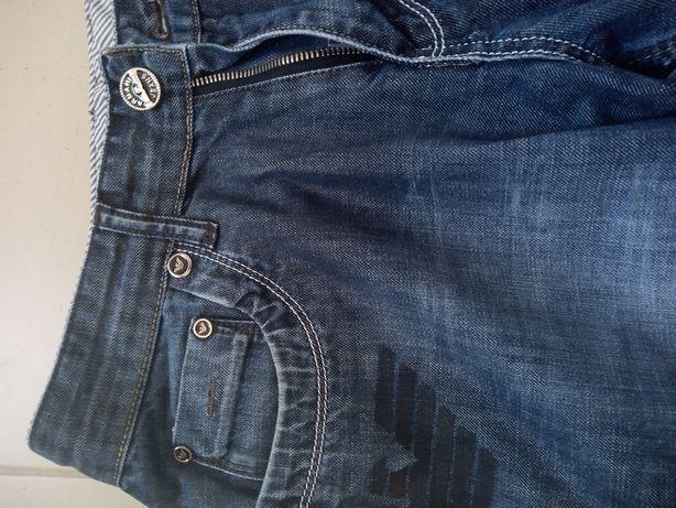 Spodnie jeans jeansy retro dżinsy Armani M