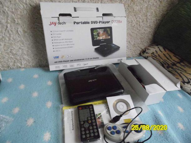 Przenosne DVD Jay-Tech D728x