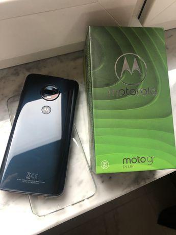 Nowa Motorola G7 plus granatowa
