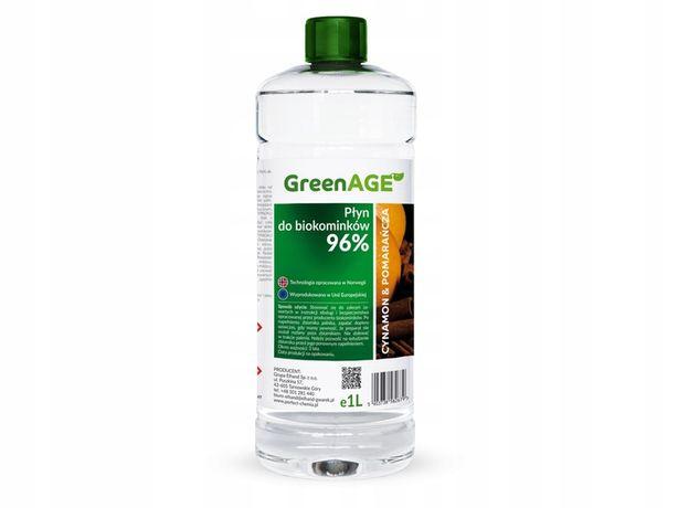 Biopaliwo aromat cynamon & pomarańcza biokominek bioetanol 1L