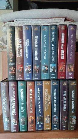 Colecção de 007 James Bond em VHS
