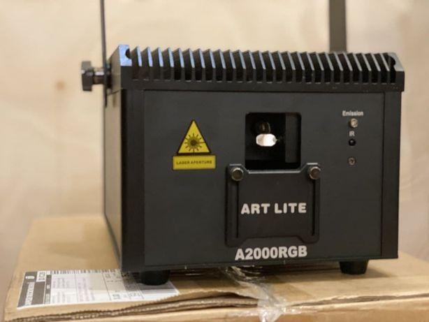 Профессиональный анимационный лазер 2W ! ART LITE