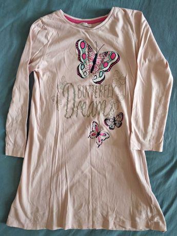 Koszulka nocna 122-128 lub sukienka