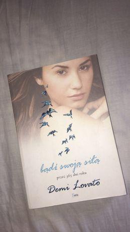 """Książka Demi Lovato """"bądź swoją siłą"""""""