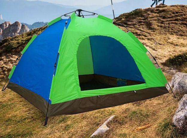 Палатка автоматическая 6-ти местная СИНЯЯ Размер 2х2,5 метра