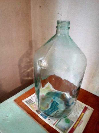 Бутыль стеклянный для вина, 20 л.