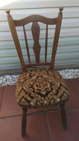 Dębowe krzesła cena za komplet 4 sztuk