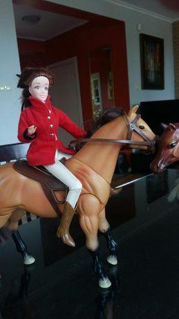Barbie dżokejka i konik Mattel