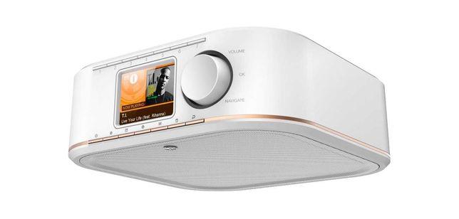 Nowe radio Internetowe Hama IR 350, białe