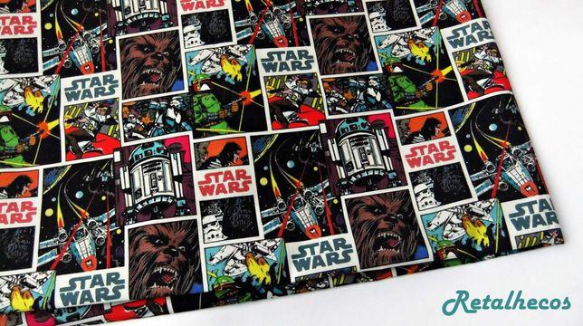 Retalhos Star Wars 100% algodão