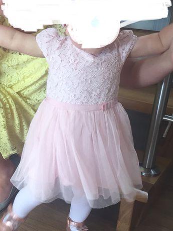 Tiulowa sukieneczka 9-12 miesięcy