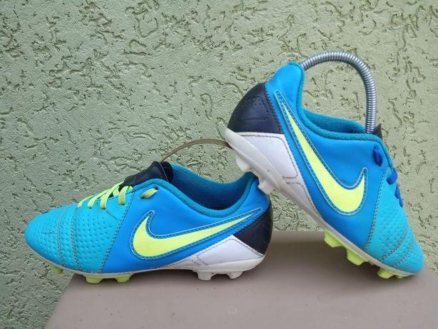 Фирменные детские кроссовки бутсы Найк Nike