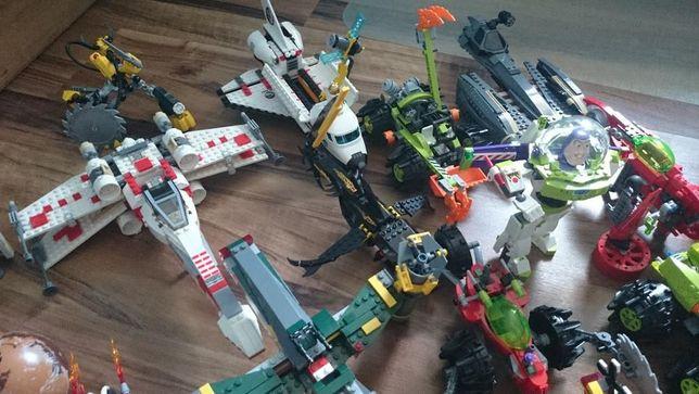 Klocki Lego 8 zesPower Miners, 5 Atlantis, 5 Lego Creator,7 Star Wars