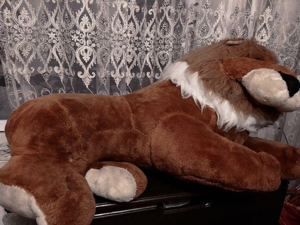 М'яка іграшка Лев