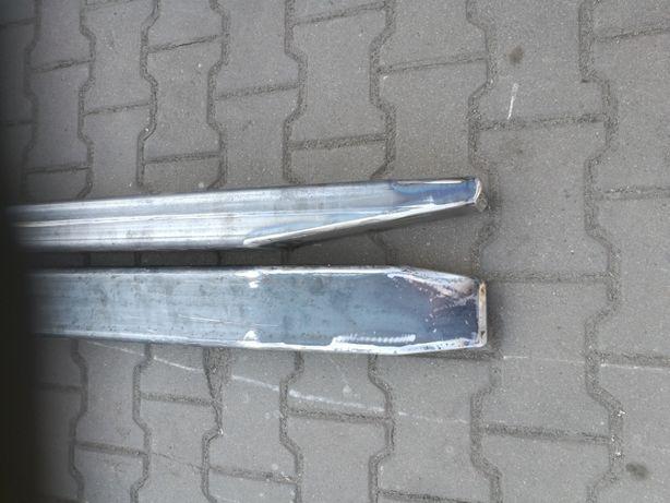 Przedłużki do wideł wózek widłowy BARDZO MOCNE. 2mb komplet