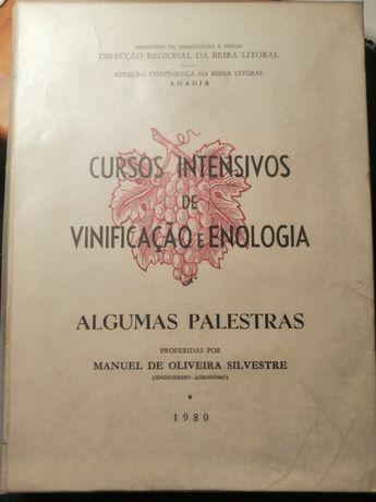 Cursos intensivos de vinificação e enologia