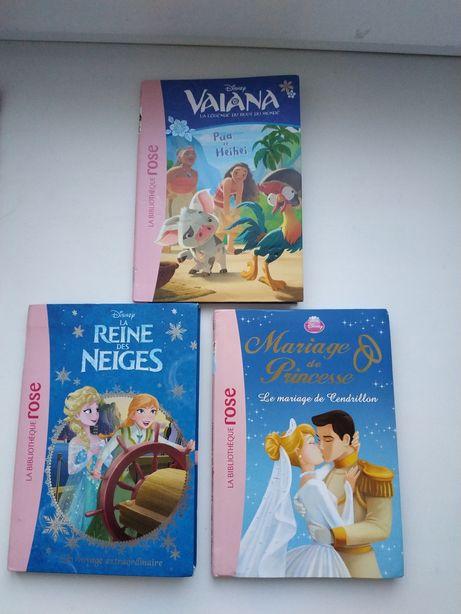Книжки Disney на французском языке