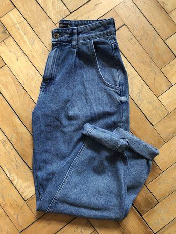 Spodnie denim slouchy