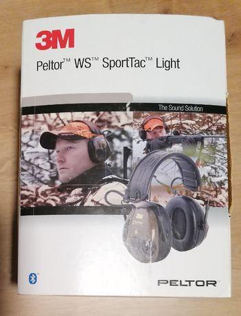 Ochronniki słuchu aktywne 3M Peltor SportTac WS Light z bluetooth