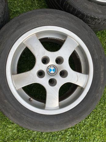 """Felgi Aluminiowe Borbet BMW 16"""" 5x120 ET20 7,5J 74,1 Opony 225/55/R16"""