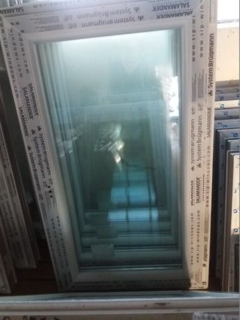 Okno pcv nowe wys 120 szer 70 uchylno - rozwierne . TANIO !!