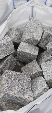 Granit kostka obrzeża granitowe