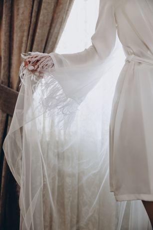 Халат, халат для ранку нареченої