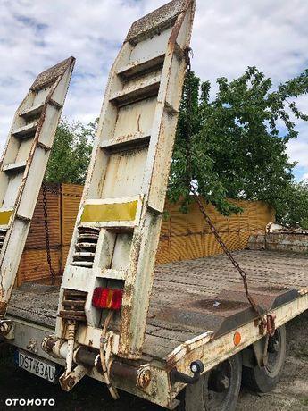 SREM P-83  Przyczepa ciężarowa niskopodwoziowa ŚREM P 83