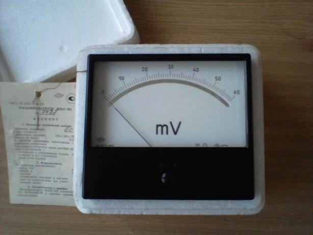 Милливольтметр М2027-М1 60 мВ вольтметр