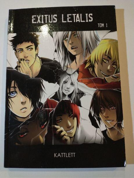 "Manga ""Exitus Letails"" tom 1, dobry stan"