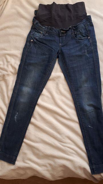 Spodnie ciążowe jeansowe L/XL