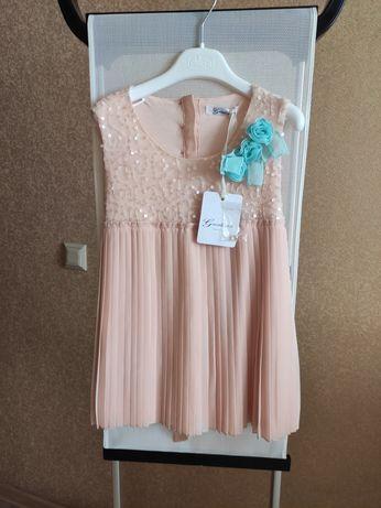 Брендова сукня-туніка на дівчинку