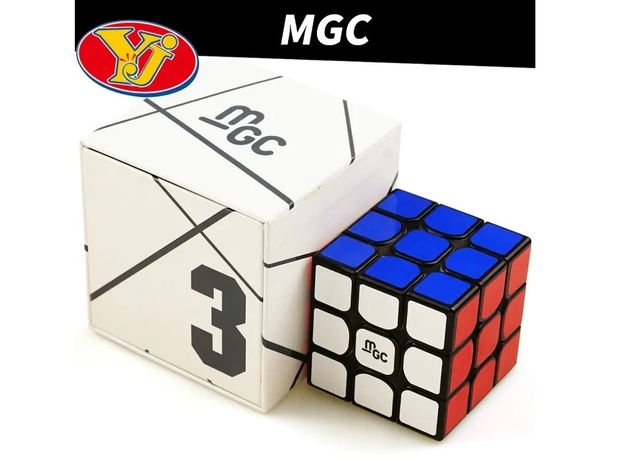 Кубик Рубика 3x3 MoYu YJ MGC магнитный, скоростной