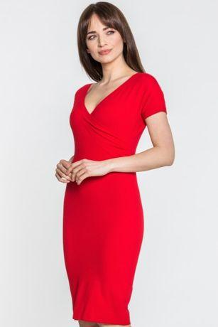 Czerwona sukienka - Ennywear rozm M/L