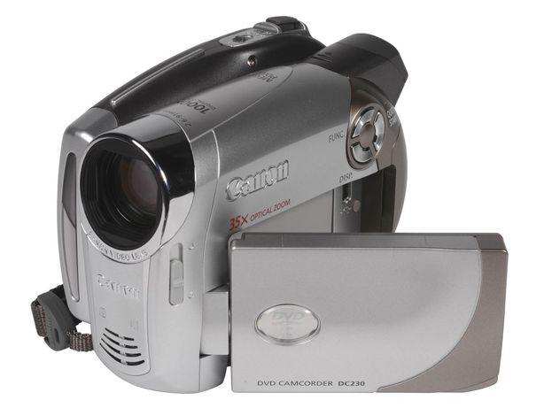 Камера Canon DC230 Digital DVD Camcorder