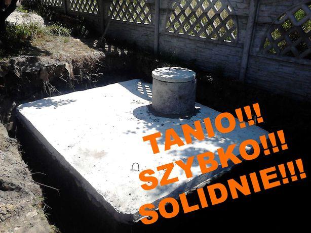 szambo 8m3 szamba betonowe zbiornik na deszczówkę piwnica betonowa