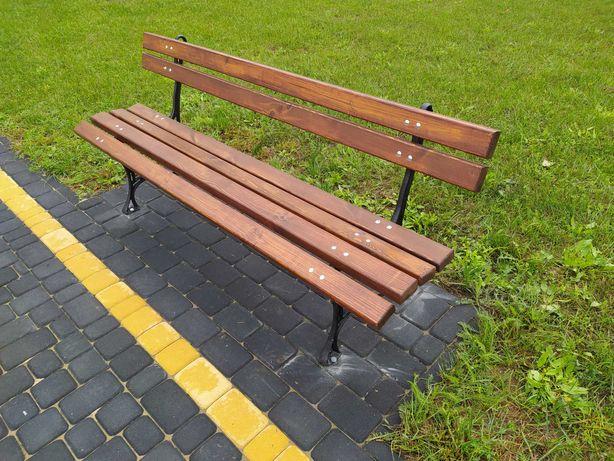 Ławka Parkowa/Miejska grube Deski 180cm. Futoma.eu