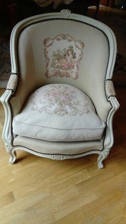 Fotel stylowy z Francji