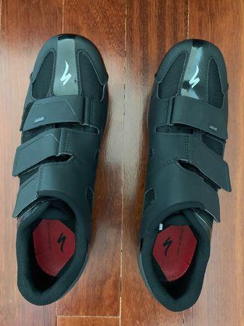 Sapatos ciclismo: Specialized Road Shoes USADOS SÓ 1x