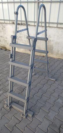 Escada para piscinas