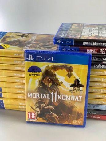 Mortal Kombat 11 Aftermath XL X Injustice 2 PS4 Tekken 7 мортал комбат