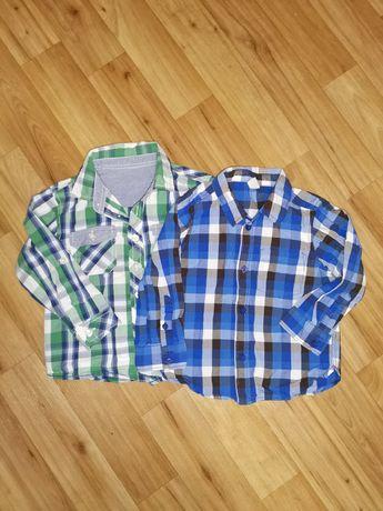 Фирменная рубашка рубашечка на мальчика 1.5 2 3 года 92 98 см