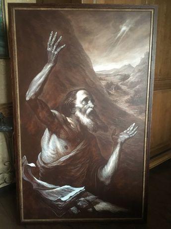 Картина Отшельник, художник В. Швецов