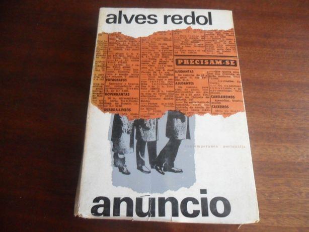 """""""Anúncio"""" de Alves Redol - 3ª Edição de 1964"""