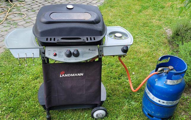 Grill gazowy Atracto Landmann 12442 z butlą gazową