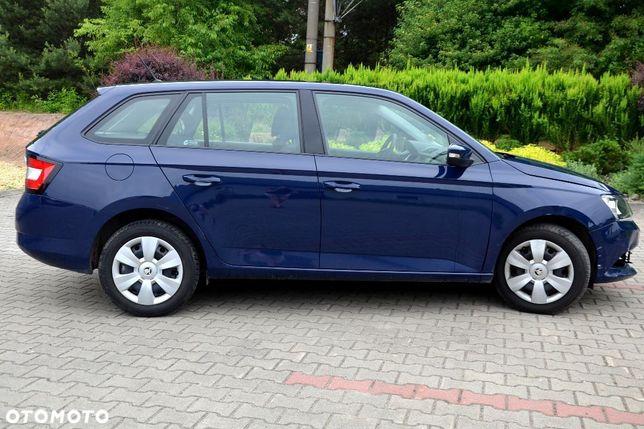 Škoda Fabia 2018 46 700 km Benzyna Kombi.